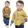 Anlencool primavera Europeus e Americanos roupas de bebê três-piece baby boy sets de roupa a roupa do bebê recém-nascido do bebê menino terno