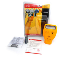 GM200 coating thickness gauge 0 1 8mm 0 71 0mil Car Painting Thickness Tester Paint Thickness