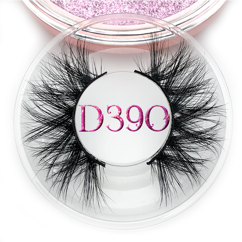 3f05bf77215 Mikiwi D390 Mink Eyelashes 3D Mink Lashes หนา HandMade Full Strip Lashes  ความโหดร้ายฟรี Luxury Makeup Dramatic Lashes ~ Top Deal July 2019