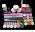 EM-133 free shipping Acrylic Liquid ,acrylic powder ,acrylic bruch set ,nail art acrylic nail kit ,acrylic nail kit