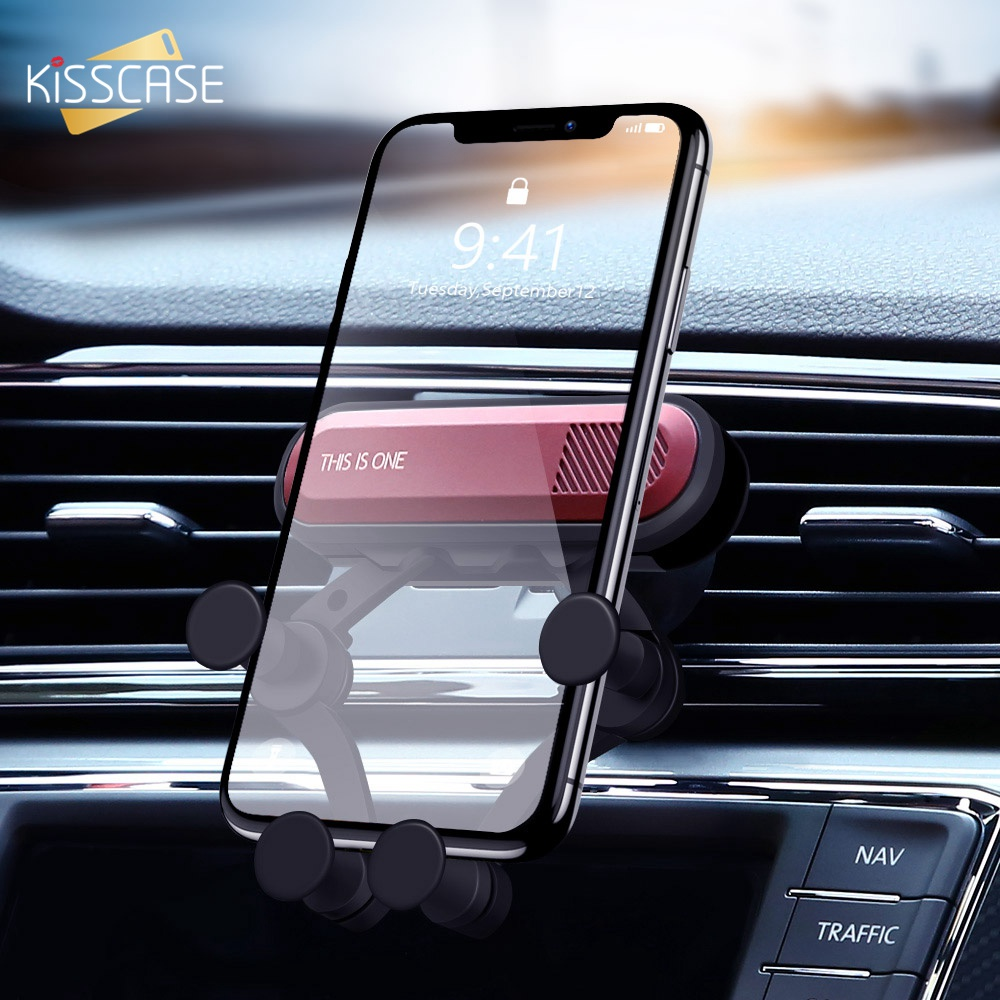 Gravity Car phone Holder Car Air Vent Mount Holder Upgraded 4-6.5inch Mobile Phone Stand Universal Smartphone Cell phone Support