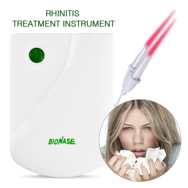 Bionase Rhinitis Sinusitis Nase Therapie Gerät Heilung Heu Fieber Niedrigen Frequenz Puls Laser Therapentic Peeling & Bodys Behandlung Bad & Dusche Schönheit & Gesundheit