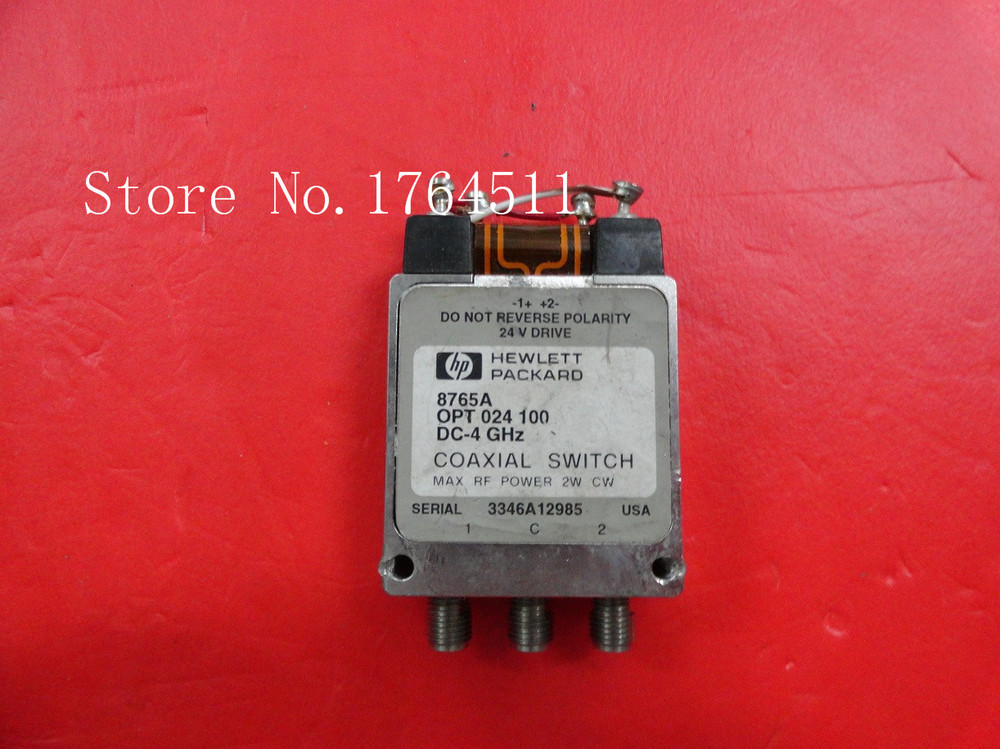 [BELLA] Supply SPDT RF - Original 8765A DC-4GHZ 24V SMA