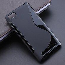 2 Color Anti Skidding Gel TPU Slim Soft Case Back Cover For Xiaomi mi4c mi4i mi