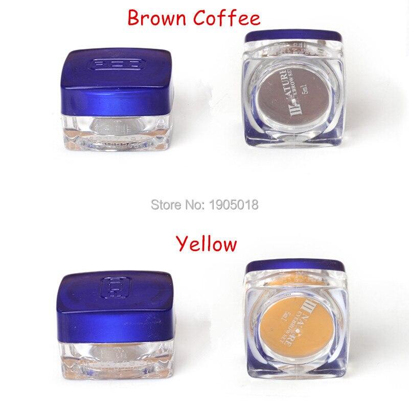 Cheapest 10pcs Black Brown Coffee PCD 3D permanent makeup paint ...