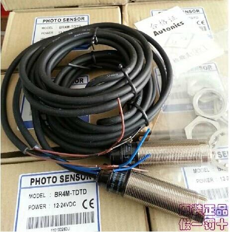 ФОТО AUTONICS  BR4M-TDTD, BR4M-TDTD-P  New and original  Photoelectric switch, photoelectric sensor  12-24VDC