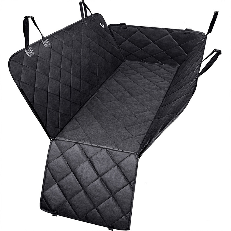 Pet Car Seat Covers For Big Dogs Waterproof Back Bench Seat Car Interior Travel Accessories Dog Carriers Car Seat Covers Mat 3