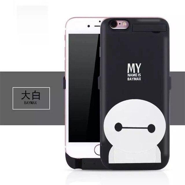 10000 мАч новый мультфильм powerbank чехол зарядное устройство чехол для iPhone 6 / 6 s плюс бесплатная доставка