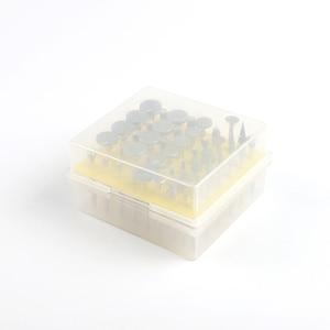 Image 2 - Broca rotativa revestida, 50 unidades/lotes 3mm ponta de diamante queimado cabeçote para dremel ferramentas rotativas diy ferramentas