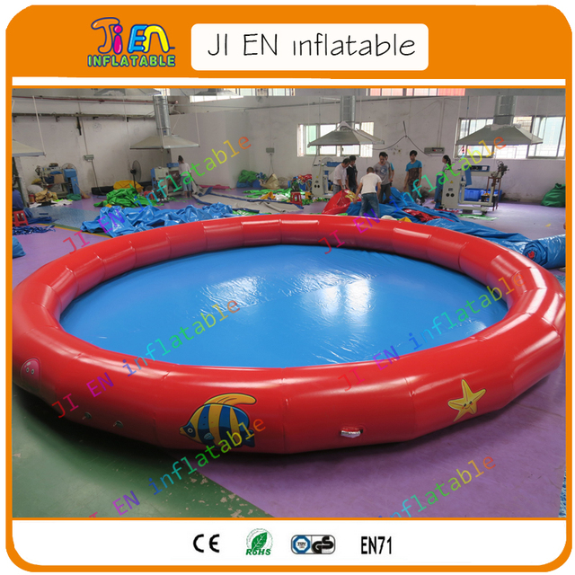 4m 5m 6m Dia Mini Household Inflatable Swimming Pool For Backyard