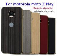 For Motorola Moto Z2 Play Z Droid Z Force Z Play Z Case Magnetic Adsorption Cover