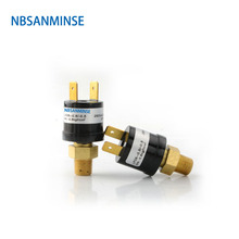 NBSANMINSE SMF08V 1/8 1/4 Small Vacuum Pressure Switch Designed Automatic Reset Switch Used In Vacuum Environment High Quality стоимость