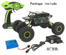 2.4G 4CH 4WD RC Car Rock Crawlers 4×4 Driving Car Double Motors Drive Bigfoot Car Remote Control Car Model Off-Road Vehicle Toy