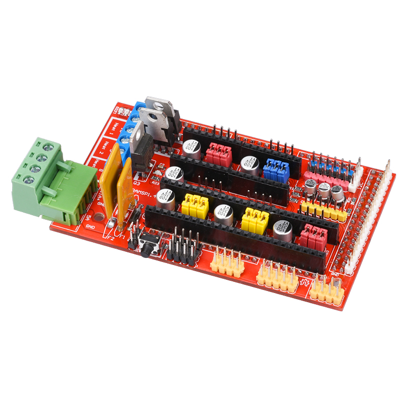 New Arrival RAMPS 1.4 3D Printer Control Panel Printer Controller Board For Reprap Mendel 3D Printer Parts комплект адаптеров атлант 7119