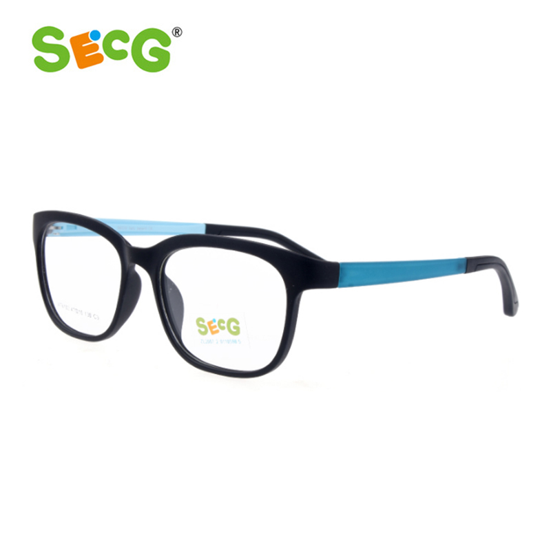 afab98d394 SECG Kids Optical Glasses Frames Boy Girl Myopia Prescription Glasses Child  Spectacle Frame Student Eyeglasses with Strap-in Eyewear Frames from  Apparel ...