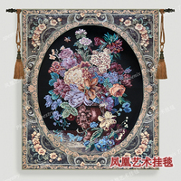 May Flowers Wall Hanging Tapestry Cotton Home Textile Deco Tapiz Gobelin Tapisserie Arazzo Medievale GT008