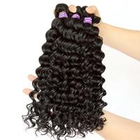 Deep Wave Brazilian Hair Weave Bundles 100% Human Hair Bundle Loose Hair Extension Comingbuy Hair Curly Products Remy