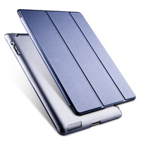 High Quality Magnetic PU Leather Smart Case Fit For IPad 2 3 IPad 4 With Soft