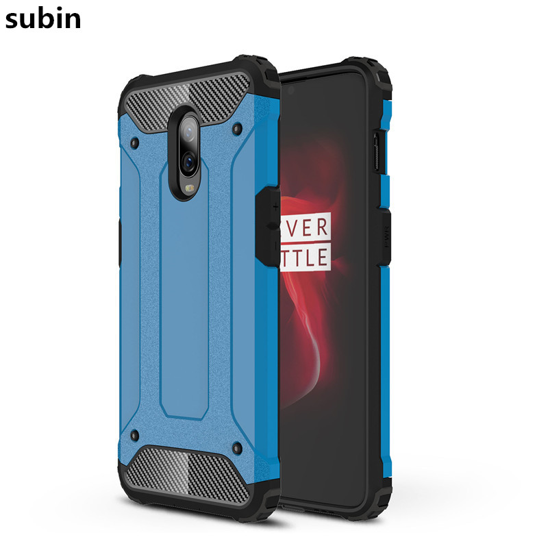 One Plus <font><b>6T</b></font> case cover funda New Luxury Shockproof bumper protect For <font><b>OnePlus</b></font> <font><b>6T</b></font> <font><b>smartphone</b></font> case back cover coque image