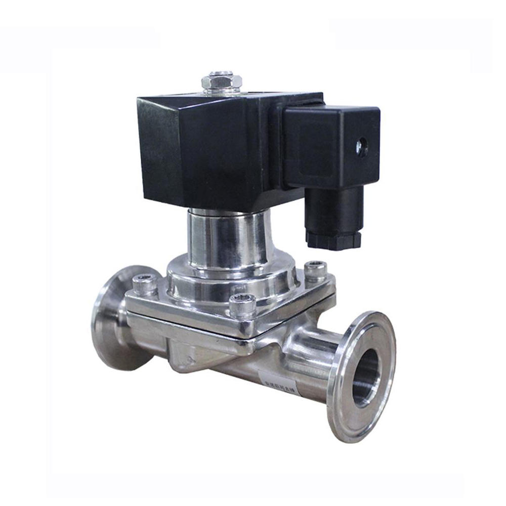 1 pc DC24V Electric Sanitary Solenoid Coil Normally Closed