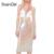 Sheingirl 2017 office lady falda de cintura elástica de las mujeres sweet vintage lentejuelas bodycon flaco casual cintura alta falda de midi
