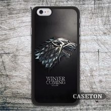 GOT Game Of Thrones House Stark Case For iPod 5 and For iPhone 7 6 6s