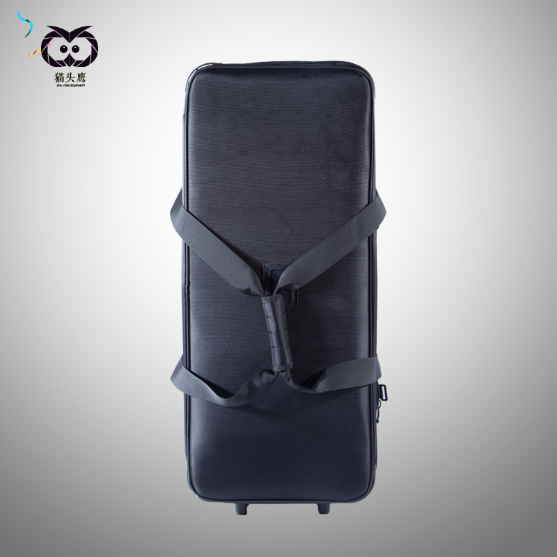 Portable flash lamp pull rod box photographic equipment lamp package super large background lamp holder pulley bag NO00DC