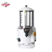 ITOP Commercial Hot Chocolate Dispenser Machine for Cafe, Party Bath system 5L/10L Beverage Coffee Milktea Mixer 220V