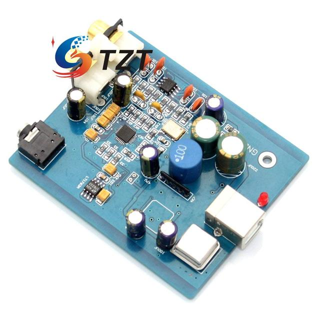 SA9023 ES9018K2M HIFI DAC Decodificador de Áudio da Placa de Som Placa de Apoio 24bit 96 K