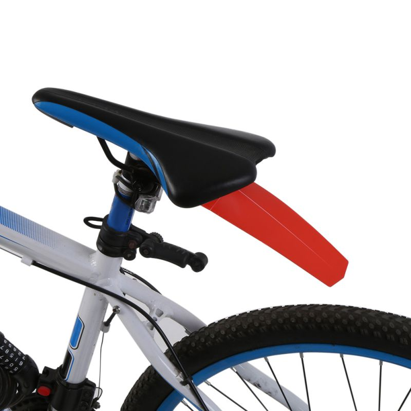 5 Colors Bike Bicycle Fender Riding Race MTB Road Cycling Commuter Saddle Ass Removable Parts Accessories Rear Bicycle Wings