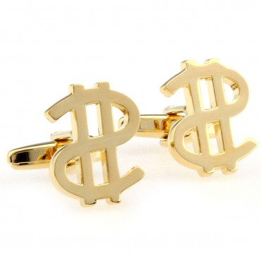 US dollar Cufflink 15 pairs Wholesale Free Shipping