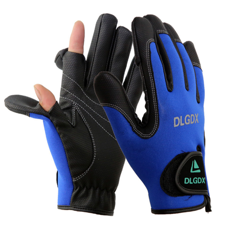 New design men outdoor sport autumn winter fly fishing for Fly fishing gloves