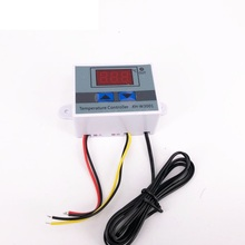 12V/ 24V/ 220V W3001 Digital LED Temperature Controller 10A Thermostat Control Switch Probe XH-W3001