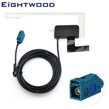 Eightwood Универсальная автомобильная DAB+ радио антенна активная Удлиняющая DAB антенна Fakra усиленная для Alpine Pure Highway Europe Car