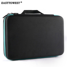 Easttowest Go pro Accessories Protective Storage Bag Carry Case for Xiaomi Yi Go pro Hero 6 5 4 Sjcam Sj4000 Action Camera(China)