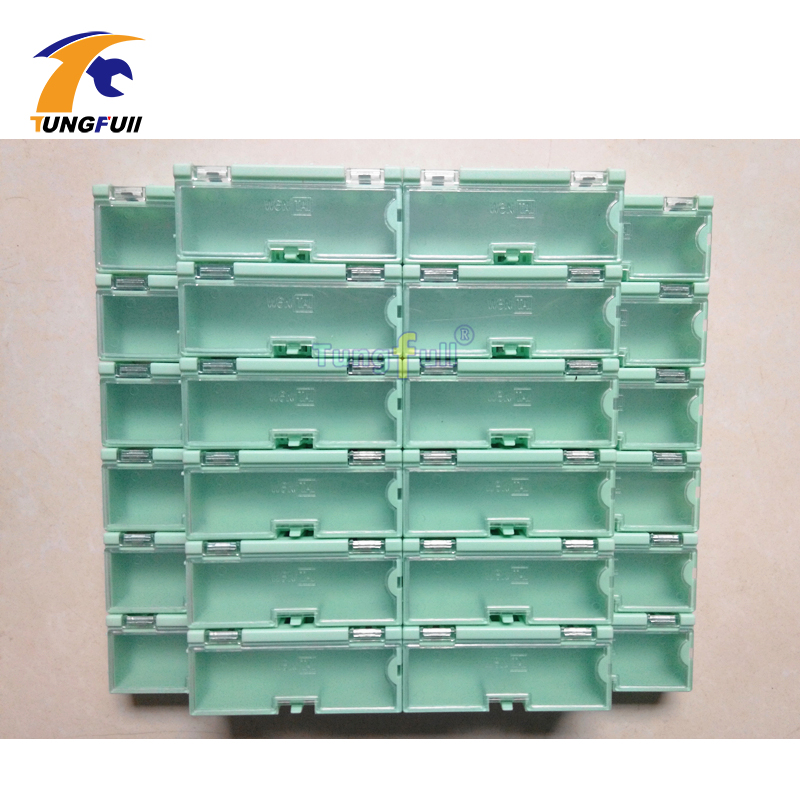 30 Pcs Electronic Case Kit Components Storage Boxes Containers Green And Larger Jewelry Storeages Case