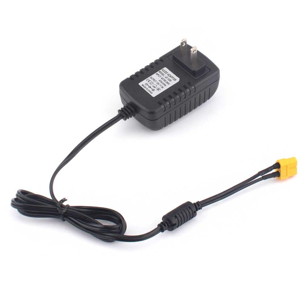 Зарядное устройство Lipo Батарея Мощность адаптер переменного тока в постоянный 12В 3A XT60 разъем для STRIX Зарядное устройство 1 S Зарядное устройство