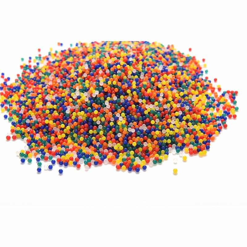 200PCS/pack new colored orbeez soft crystal water paintball gun bullet grow water beads grow balls water gun toys