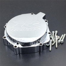 все цены на Motorcycle Accessories Left side Engine Stator cover For Suzuki 2005 2006 2007 2008 GSXR1000 CHROME онлайн
