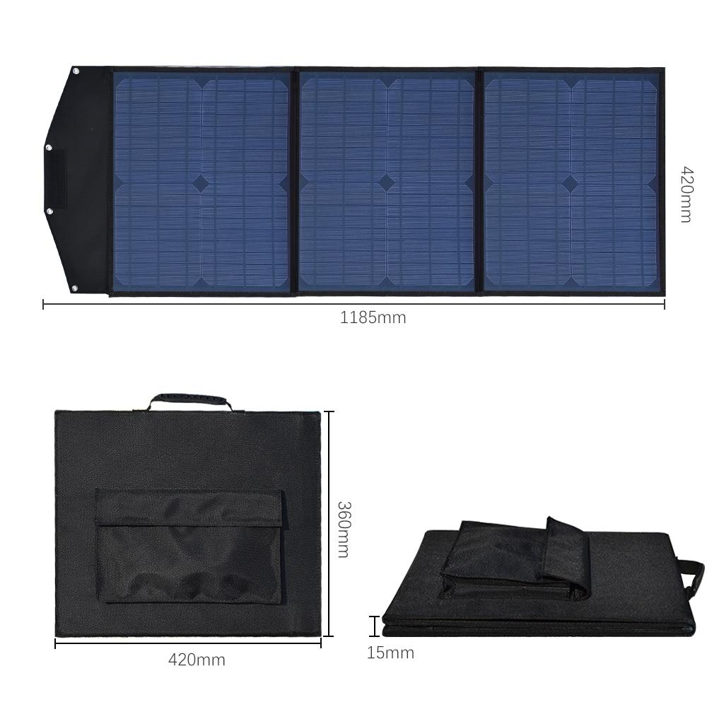 Boguang 18V 60W 60 Watt Sun Solar Panel portable PV Phone Camera lighting Laptops Car Battery outdoor etc Solar folding charger