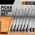 Набор отверток SEDY Pick & Hook  удлиненное уплотнительное кольцо и съемник уплотнения  Мягкая рукоятка  различные формы  набор ручных инструменто...