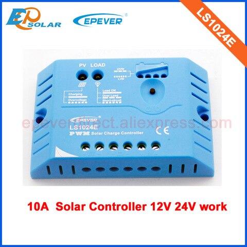 12 v 24 v trabalho automatico carregador de bateria solar controlador ls1024e 10a epever epsolar