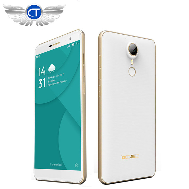 "Original DOOGEE F7 PRO 5.7"" HD IPS Mobile Phone Android 6.0 MT6797 Deca Core 4GB RAM 32GB ROM 21.0MP Camera Dual SIM WCDMA"