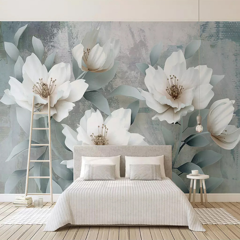 3D Wallpaper Modern Retro Flowers Photo Wall Mural Living Room Bedroom Home Decor Background Wall Painting Papel De Parede Sala Herbal Products f4843c1c797abf1a256c88: 1 ㎡