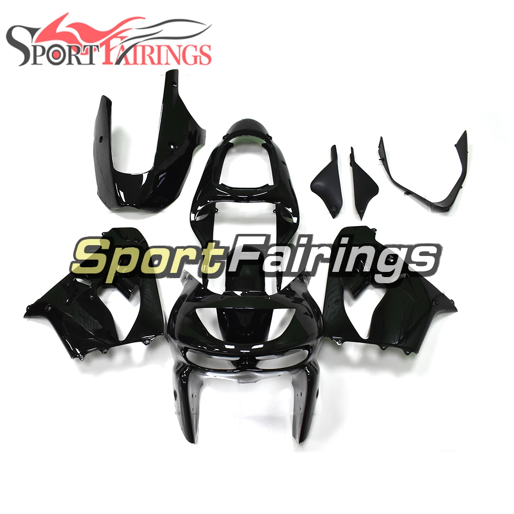 Carenature Per Kawasaki ZX-9R ZX9R Anno 98 99 1998 1999 ABS Moto Kit Carena Completa Moto Carrozzeria Carenatura Shinny Nero