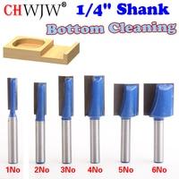 6PC 1 4 Shank High Quality 1 4 5 16 3 8 1 2 5 8