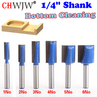 6PC 1 4 Shank High Quality 1 4 5 16 3 8 1 2 5 8