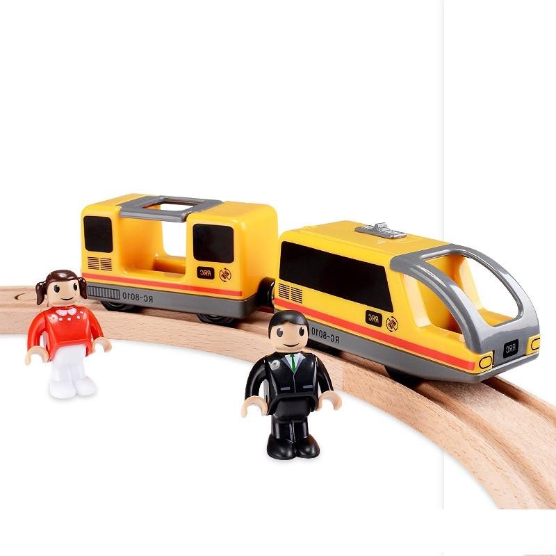 Farfeji Electric Rail Train Toys Model Car Track Set Electric Rails Friends Trackmaster Rail Model Toy Track Train Set Diecasts & Toy Vehicles