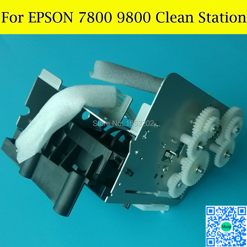 1 PC Original Capping Station & Pump Assembly For EPSON 7800/9800 Printhead Cleaning Unit