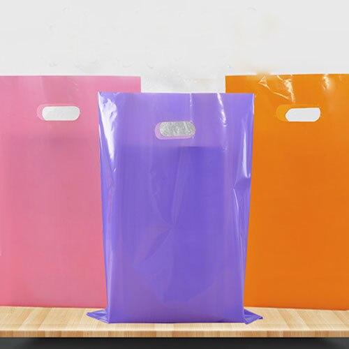 Логотип Пластик сумки 25x35 см пакет 500 обуви Макияж ткань шарф очки Футболка ювелирные изделия, сумки